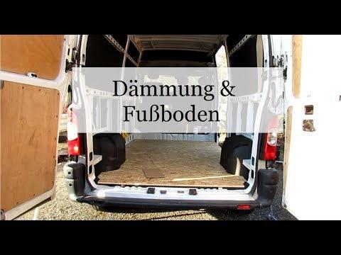 Dämmung Fußboden Wohnmobil ~ Folge 3 dämmung und fußboden verlegen campervan wohnmobil