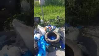 Discarica a Pantano Basso