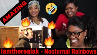 Mom reacts to iamtherealak - NOCTURNAL RAINBOWS (REMIX) | Reaction Ft. J100 and Aunt