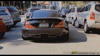 Brabus Mercedes-Benz SL 65 AMG Black Series Videos