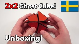 fangshi 2x2 ghost cube unboxing swedish