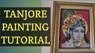 Tanjore painting stone work and mukk work part 1