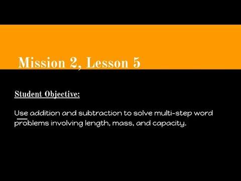 Mission 2, Lesson Math Video - Carlinville Intermediate School