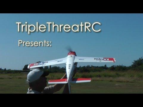 Parkzone Trojan T-28 - Awesome Flying Foamie