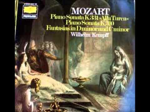 Mozart Piano Sonata K.331 (Wilhelm Kempff)