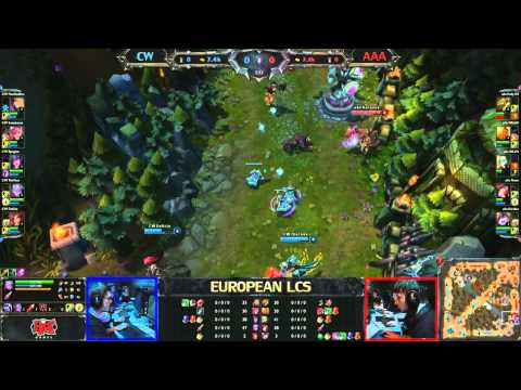 CW vs AAA - LCS 2013 EU Spring W4D1 (English)