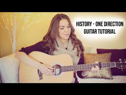 History Guitar Tutorial – One Direction // Easy