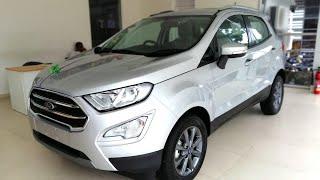 2020 Ford Ecosport BS6 | Moondust Silver | Walkaround Review - 2020 Ford Ecosport | Titanium