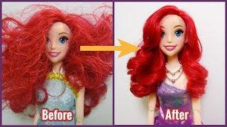 Biến hóa cho Nàng tiên cá từ xấu thành đẹp đi chơi/ Ariel Mermaid Makeover/ Ami Channel