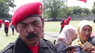 """Apel Siaga """"Setia Negara Kesatuan Republik Indonesia Dan Setia Megawati""""."""