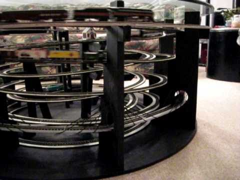 N scale coffee table layout youtube Train table coffee table