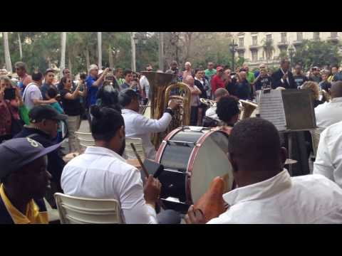 Real Moments:  Paseo del Prado, Havana - From the Percussion Section of the Orchestra