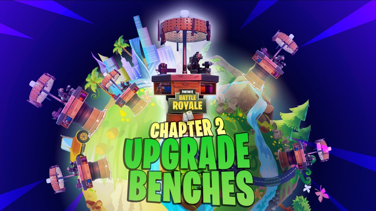 All 26 Weapon Upgrade Bench Locations In Fortnite Chapter 2