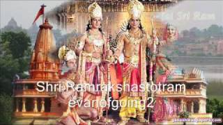Shri Ram Raksha Stotram - Evening Mantras Lyrics in description