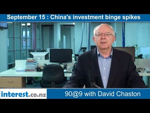 90 seconds @ 9am : China's investment binge spikes