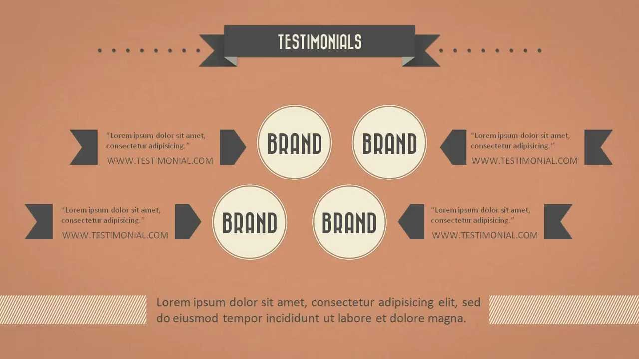 retro slides powerpoint presentation template hd youtube