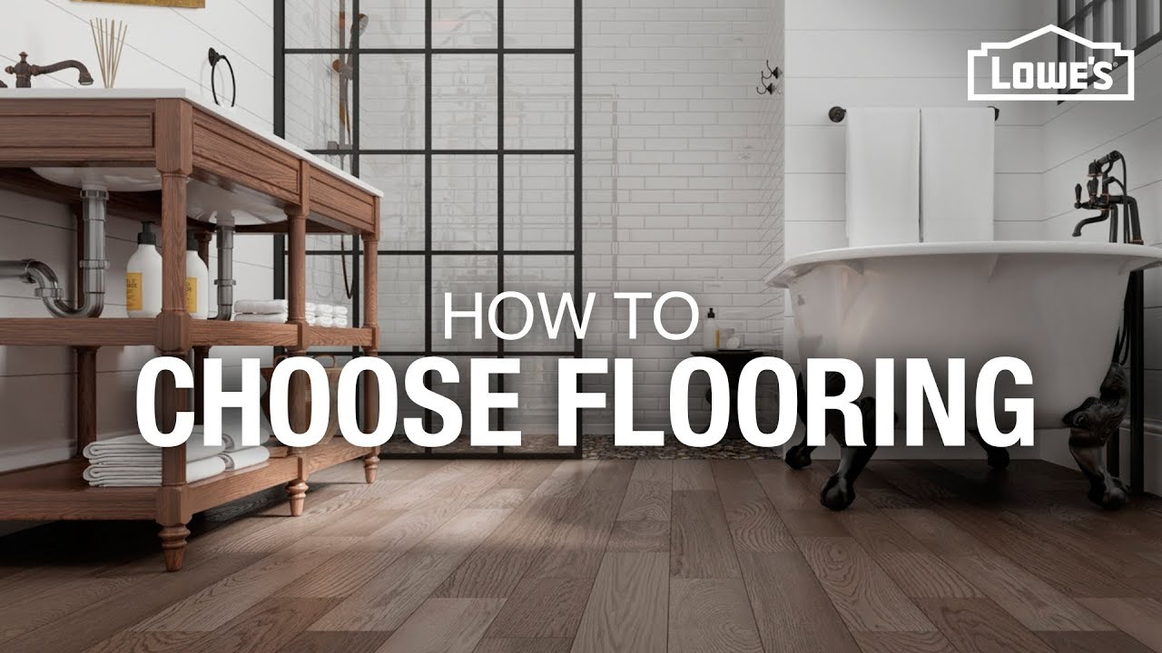 How to Choose Flooring - YouTube