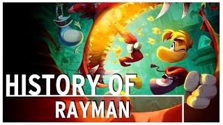 History of - Rayman (1995-2015)