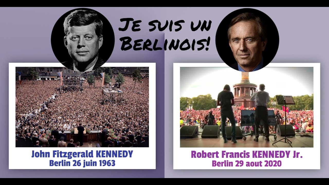 (VF) ROBERT FRANCIS KENNEDY JR. À BERLIN