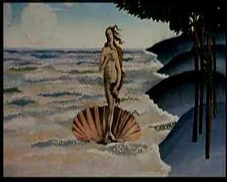Monty python venus animation