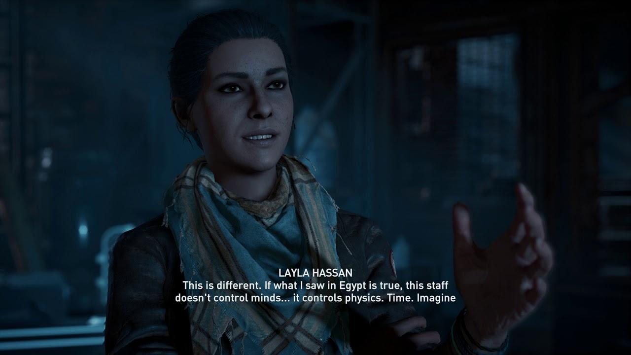 Assassin S Creed Odyssey Memories Awoken Layla Hassan