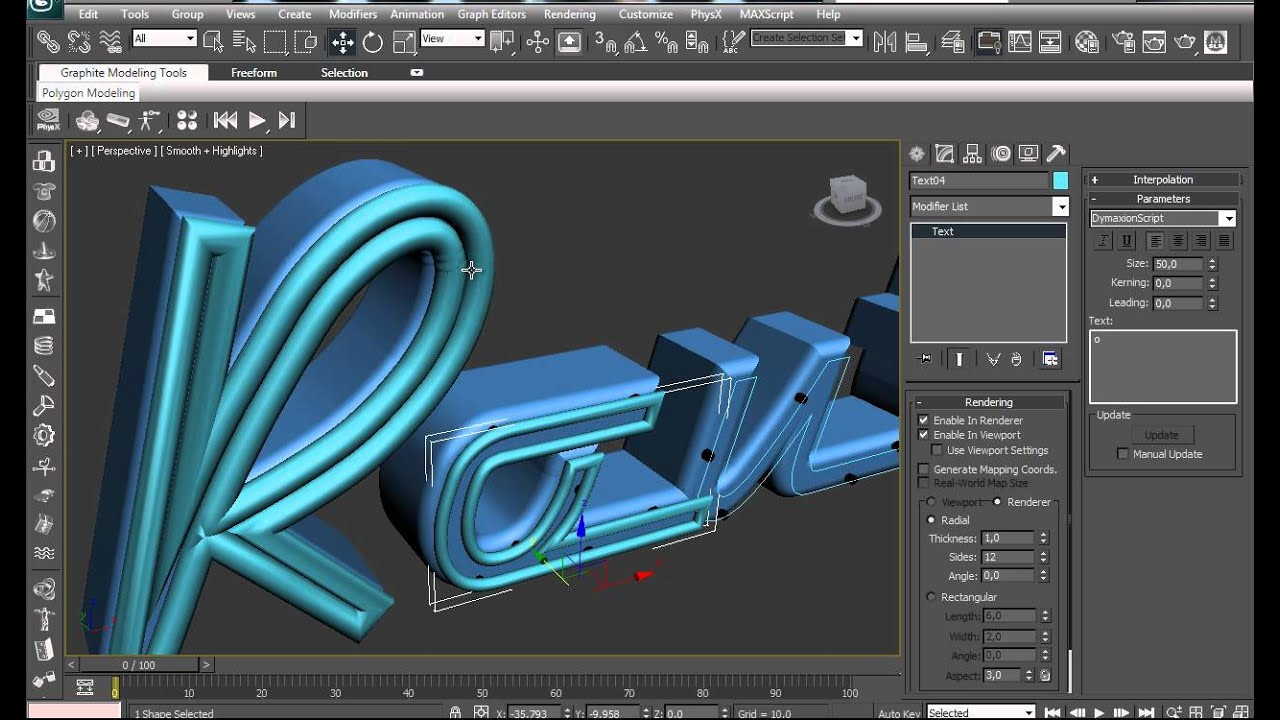 Tutorial neon 3d max youtube for 3d max tutorial