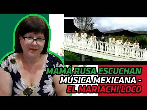 RUSSIANS REACT TO MEXICAN MUSIC   EL MARIACHI LOCO   REACTION