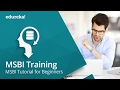 Microsoft BI Training - 1 | MSBI Tutorial for Beginners - SSIS Tutorial | SSIS SQL Server | Edureka