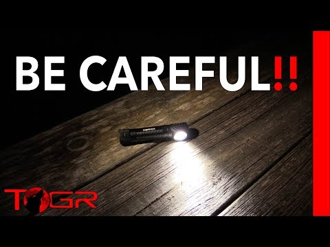 So HOT That It Can Melt - Olight H2R Nova Headlamp and Flashlight – Review