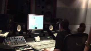 Vybz Kartel Voicing For UK Rapper (Kano) In Don Corleon Studio [May 2010]