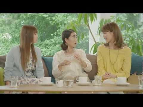 中川翔子 珈琲生豆茶 CM スチル画像。CM動画を再生できます。