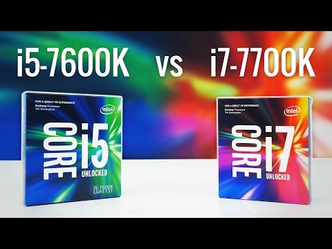 i5-7600K vs i7-7700K - Which Should You Buy?