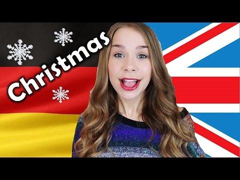 German vs. English: Christmas