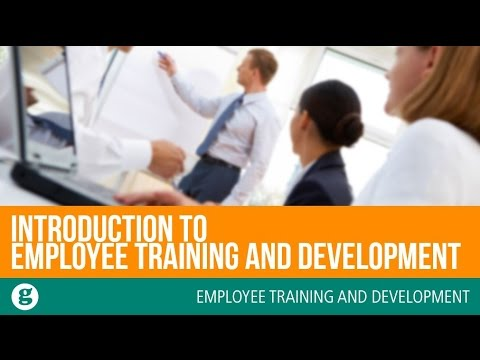 Introduction To Employee Training And Development