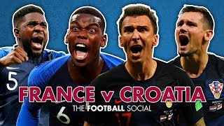 France 4-2 Croatia | World Cup Final with Adebayo Akinfenwa | The Football Social 🏆