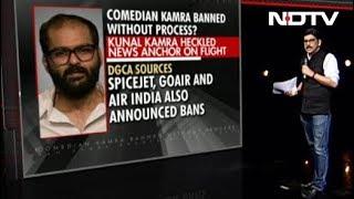 Comedian Kunal Kamra's Airline Ban For 'Heckling' | Trending Tonight