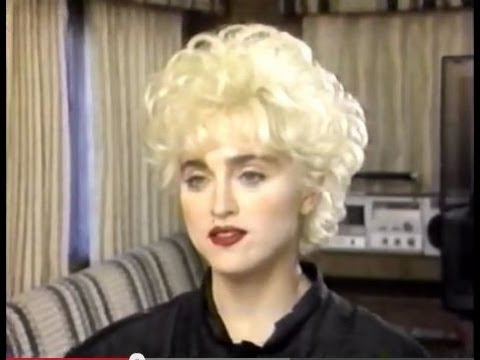 "MADONNA - Interview on the set of ""Who's that Girl?"" 1987"