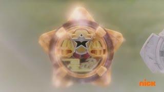 Power Rangers Ninja Steel - Gold Rush - Gold Ranger's Past and Lion Fire Zord (Episode 8)
