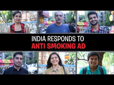 India Responds to Anti Smoking Ad