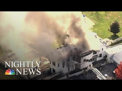 Brother Charged With Murder After Family Found Dead In Burning New Jersey Mansion | NBC Nightly News