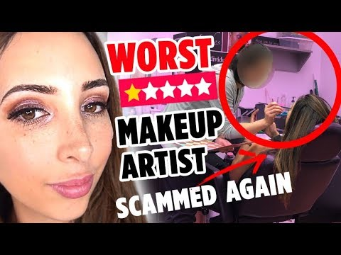 I WENT TO THE WORST REVIEWED MAKEUP ARTIST ON YELP IN MY CITY PART 2 - ALMOST SCAMMED AGAIN!   Mar