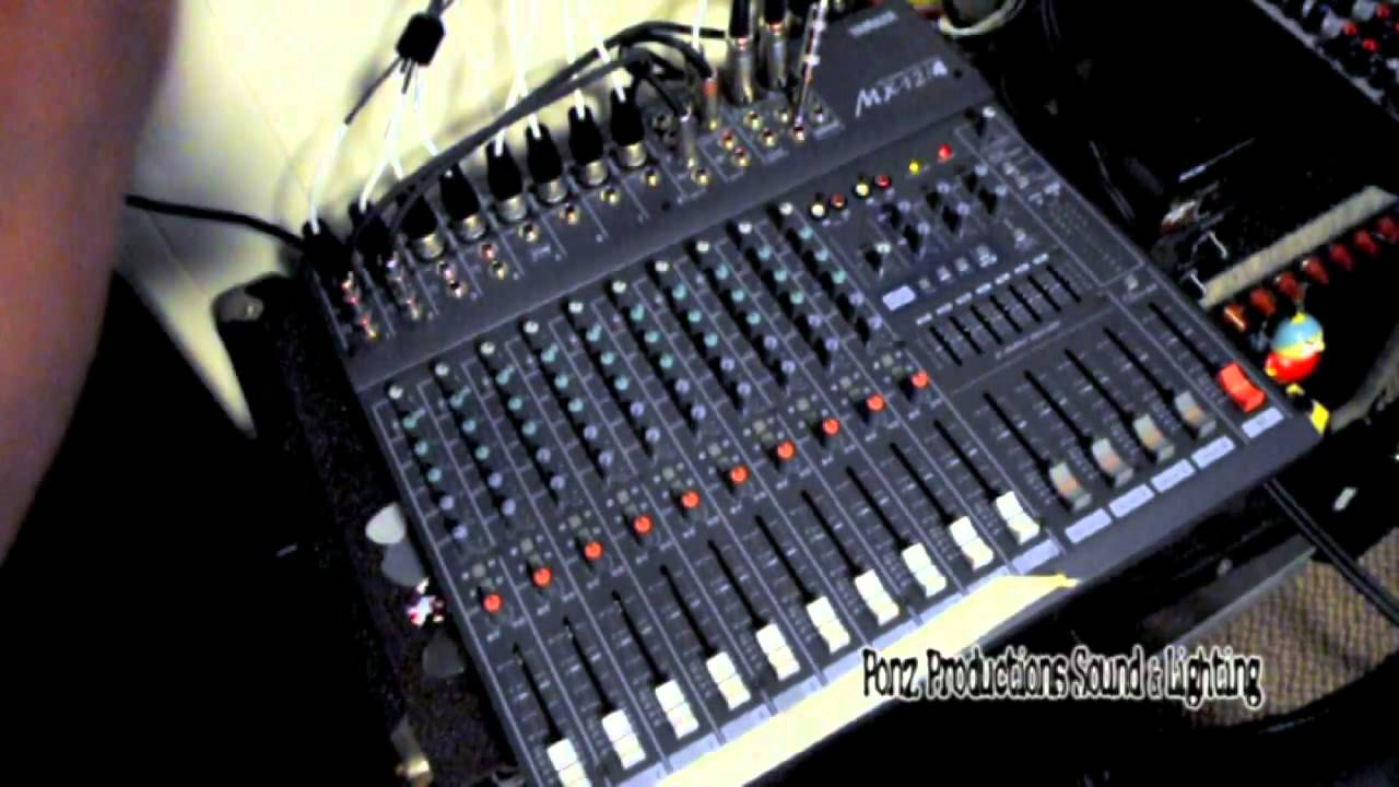 Intro To Mixer And Basic Live Sound Setup Pt  6 1 Stage Snake