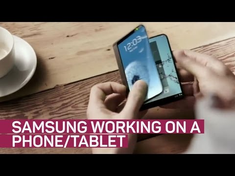 It's inevitable: Samsung will build a phone with a foldable display