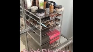 My Acrylic Makeup Storage (acrylic Concepts Unboxing And Review)