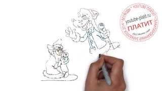 Мульт ну погоди онлайн  Как правильно рисовать зайца Ну погоди поэтапно карандашом за 47 секунд(Ну погоди. Как правильно нарисовать волка или зайца из мультфильма Ну погоди поэтапно. На самом деле легко..., 2014-09-11T16:18:35.000Z)
