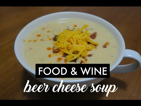 Epcot's Food and Wine Canadian Cheese Soup
