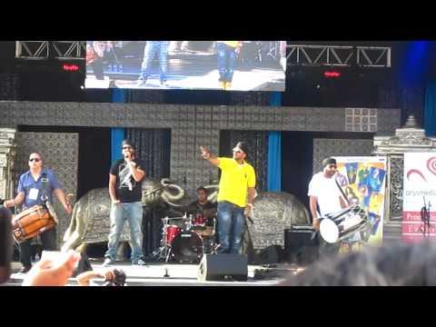 RDB singing Sadi Gali at IIFA Buzz Brampton Day 2
