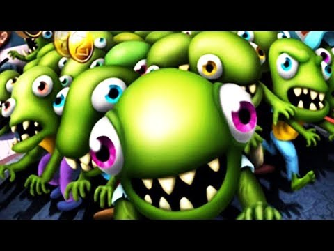 Zombie Tsunami #4 Игровой мультик для детей про зомби веселый детский мультик игра для малышей