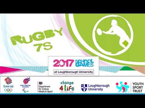 2017 School Games   Rugby 7s   Day 1