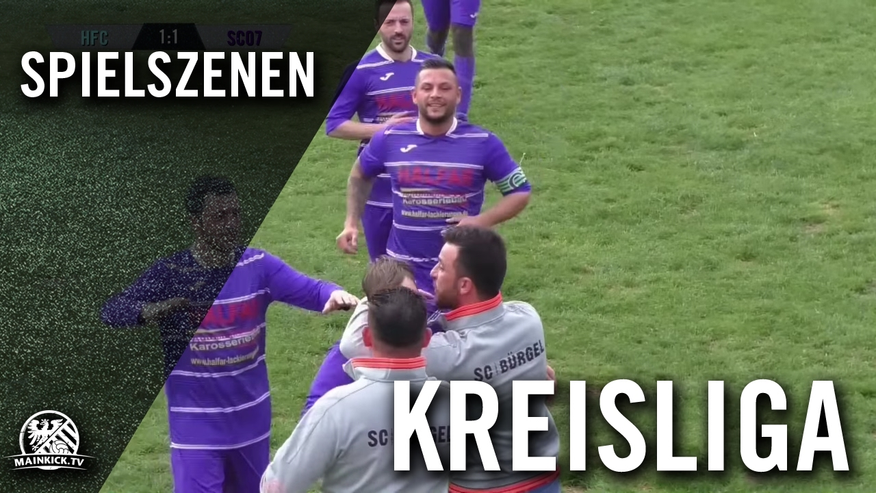 Hfc Burgel Sc 07 Burgel Kreisliga B Offenbach Gruppe West Spielszenen Mainkick Tv